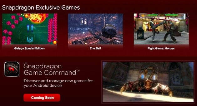 Qualcomm lanza Game Command, competencia directa de Tegra Zone