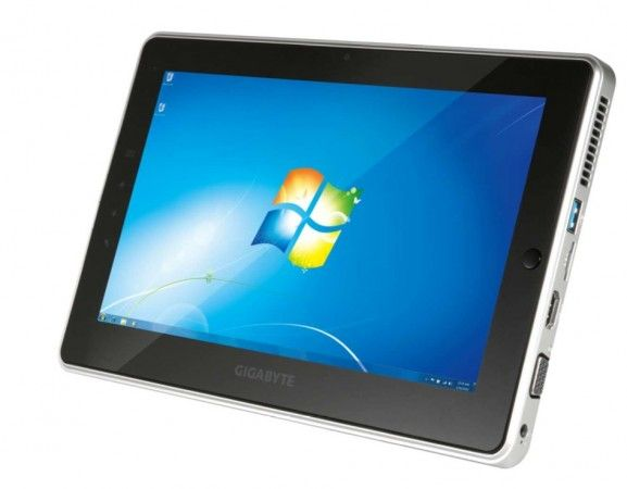 GIGABYTE S1081 – tablet de 10 pulgadas con Windows 7