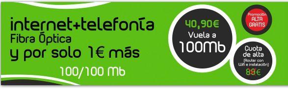 Cablex, 100 megas simétricos -subida y bajada- disponibles en Extremadura 31