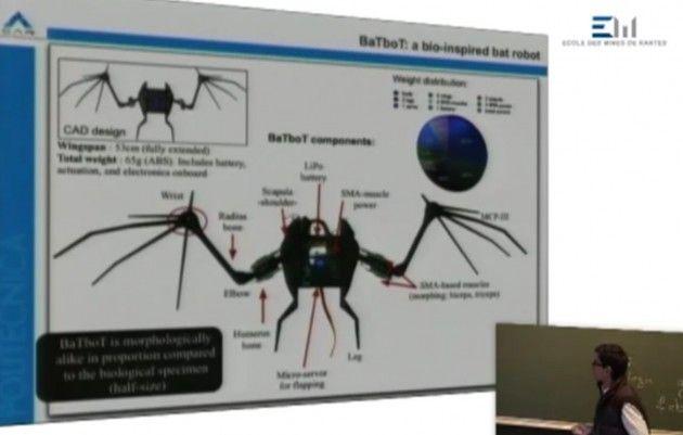Robot murciélago español: BaTboT