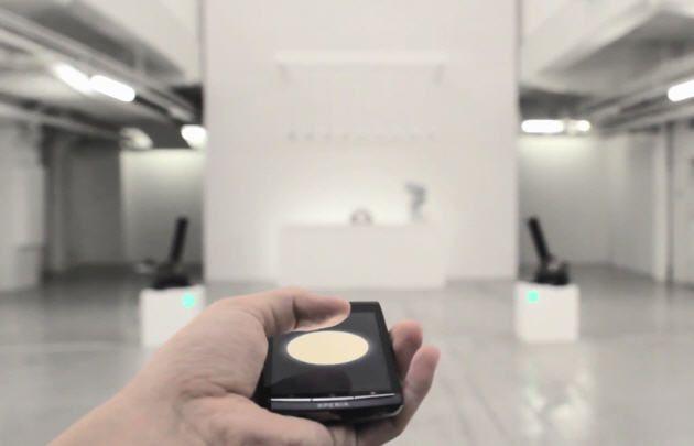 Sony Dot Switch, ¿nueva tecnología de control remoto?