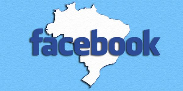 Facebook se apodera de Brasil