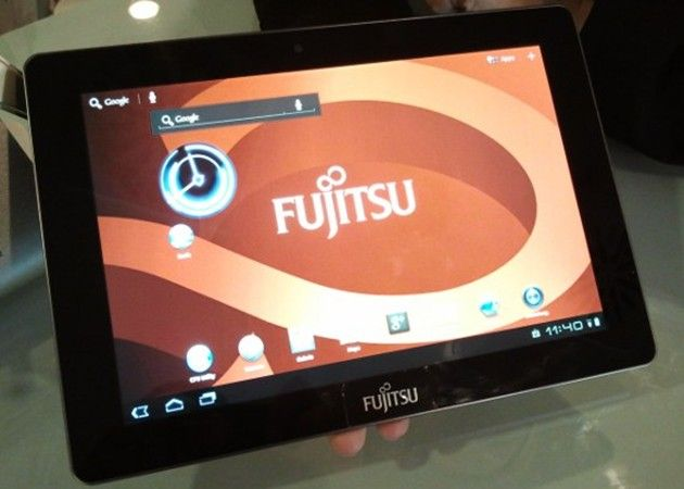 Tablet Fujitsu m532 con Tegra 3 y Android 4 ICS