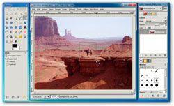 GIMShop, tu GIMP con la interfaz de Photoshop