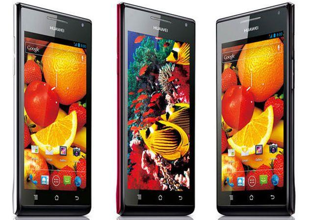 [CES 2012] Huawei Ascend P1, el smartphone más delgado del mercado