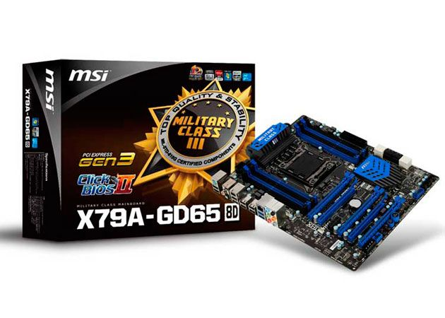 MSI X79A-GD65, calidad premium a coste razonable