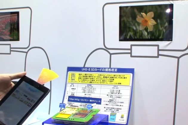Panasonic demuestra tarjetas SD WiGig que transmiten contenidos a 1 Gbps 29