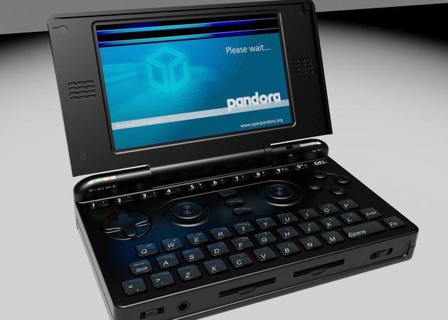 La consola portátil Pandora entrará en producción el mes que viene