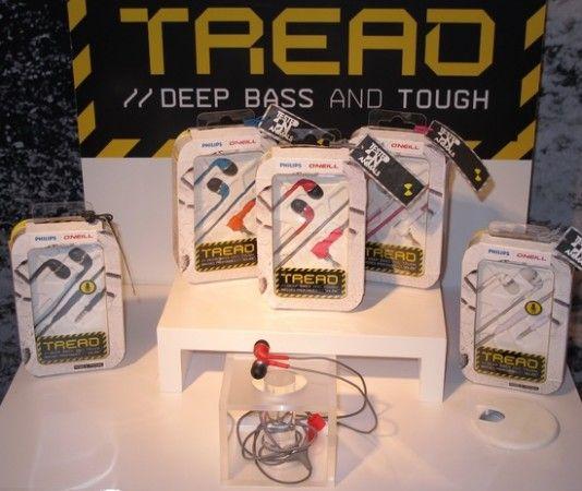 Philips Tread, auriculares resistentes a todo