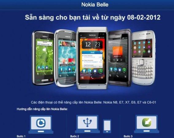 Nokia actualizará los smartphones Symbian Anna a Belle este mes de febrero