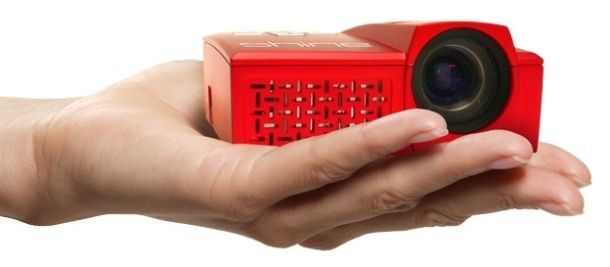 El picoproyector más pequeño con resolución HD, Velocity Micro Shine