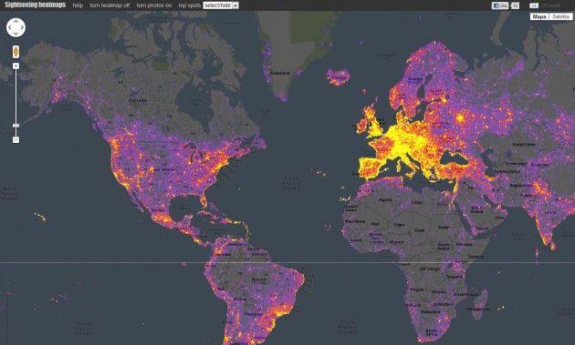 Los sitios más fotografiados del mundo