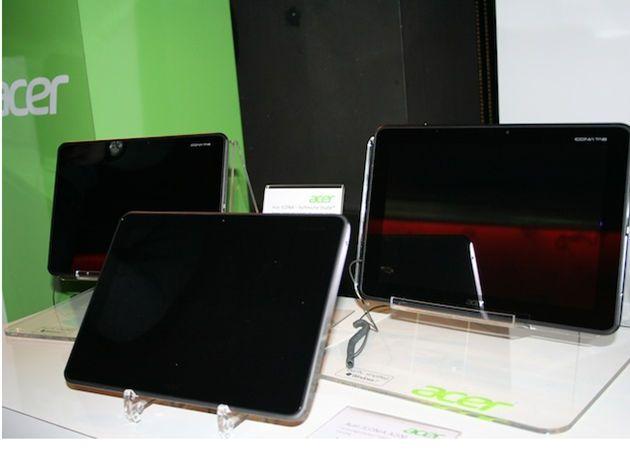 Disponibilidad y precio de los tablets Acer Iconia con Tegra 3