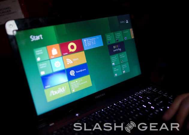 [CES 2012] Ultrabook Toshiba con Windows 8 30