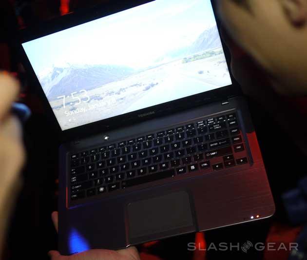 [CES 2012] Ultrabook Toshiba con Windows 8 31