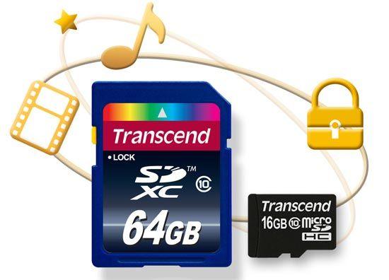 Transcend presenta sus tarjetas de memoria Copy Protection SD/microSD