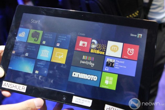 [CES 2012] Pre-beta de Windows 8 para tablet en acción 39