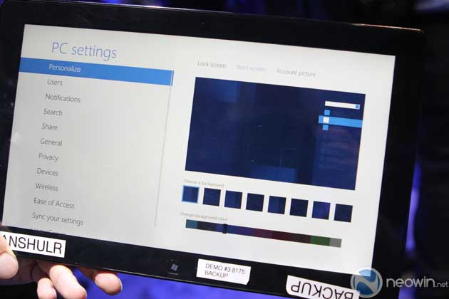 [CES 2012] Pre-beta de Windows 8 para tablet en acción 32