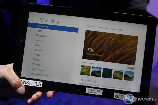 [CES 2012] Pre-beta de Windows 8 para tablet en acción 33