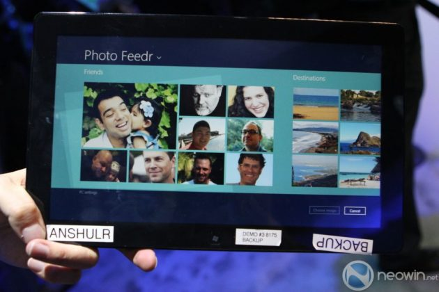 [CES 2012] Pre-beta de Windows 8 para tablet en acción 34