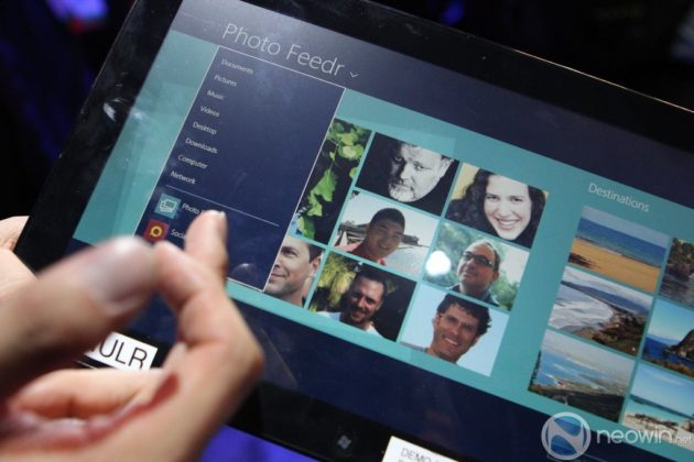 [CES 2012] Pre-beta de Windows 8 para tablet en acción 35
