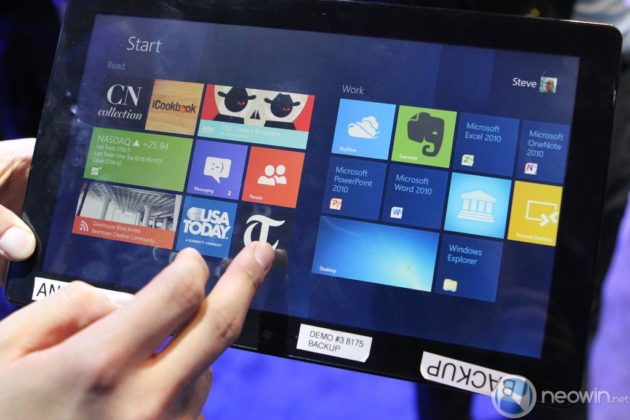 [CES 2012] Pre-beta de Windows 8 para tablet en acción 36