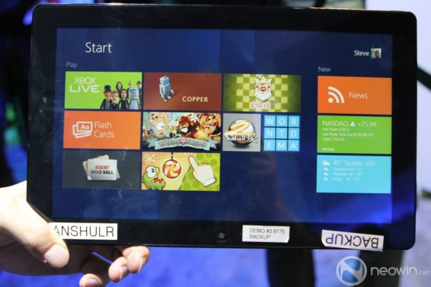 [CES 2012] Pre-beta de Windows 8 para tablet en acción 38