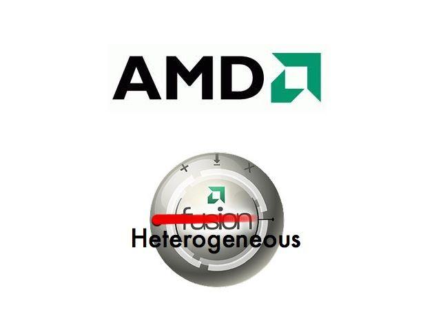 AMD dejará de utilizar Fusion, a partir de ahora será Heterogeneus