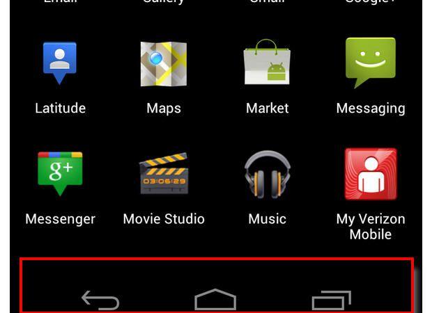 Adiós al botón Menú de Android 29