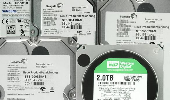 Seagate y Western Digital reducen las garantías de los HDs en 2012