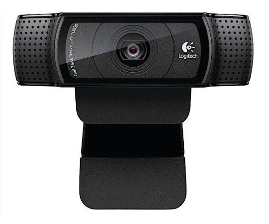 Logitech HD Pro Webcam C920, videollamadas FullHD 1.080p