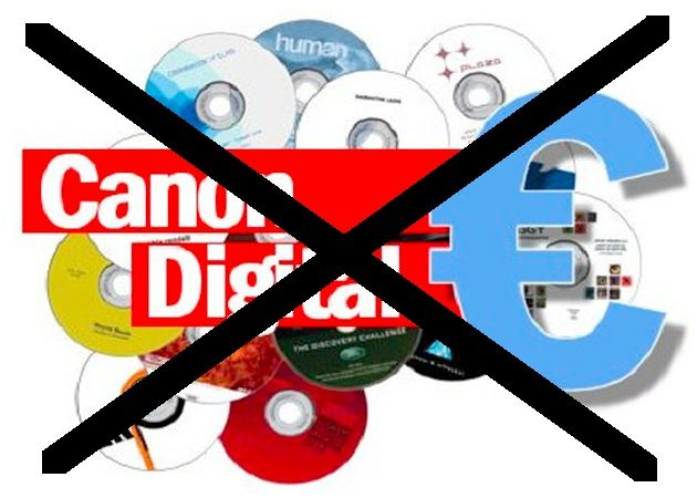 Llega 2012 y muere el ilegal canon digital (por fin)
