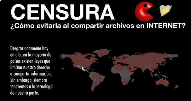 Métodos para descargar y compartir archivos sin miedo a la censura (INFOGRAFÍA)