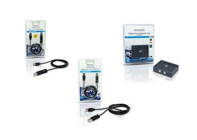 Conceptronic amplía su línea de productos Connectivity