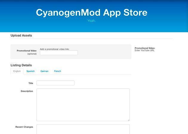 CyanogenMod App Store, para aplicaciones Android baneadas