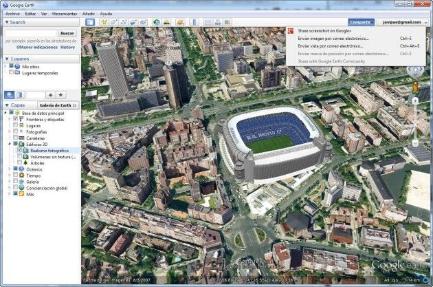 Llega Google Earth 6.2, con mejores imágenes de satélite y con Google+