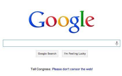 La Wikipedia, WordPress, Google y otros grandes, contra la SOPA 31