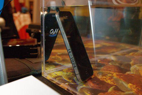 Samsung y Apple impermeabilizar móviles