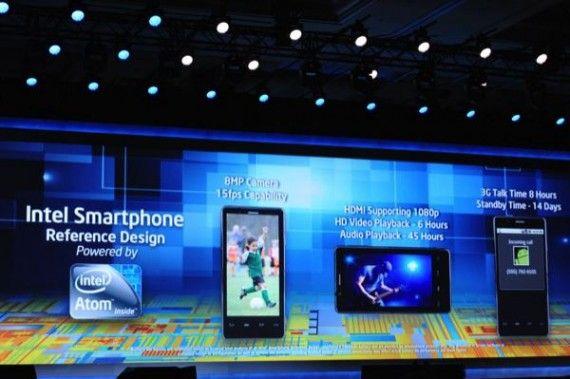 [CES 2012] Intel anuncia smartphones en colaboración con Lenovo y Motorola