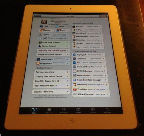 Demo iPad 2 Jailbreak Untethered