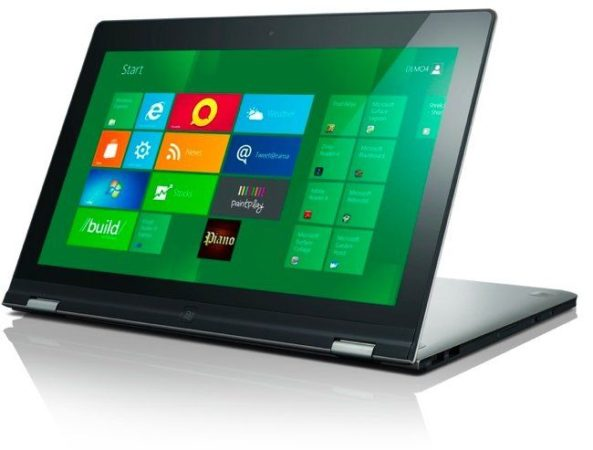 [CES 2012] Lenovo IdeaPad Yoga, el portátil contorsionista con Windows 8