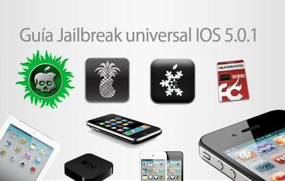 Guía universal de Jailbreak untethered iOS 5.0.1, sea cual sea tu dispositivo