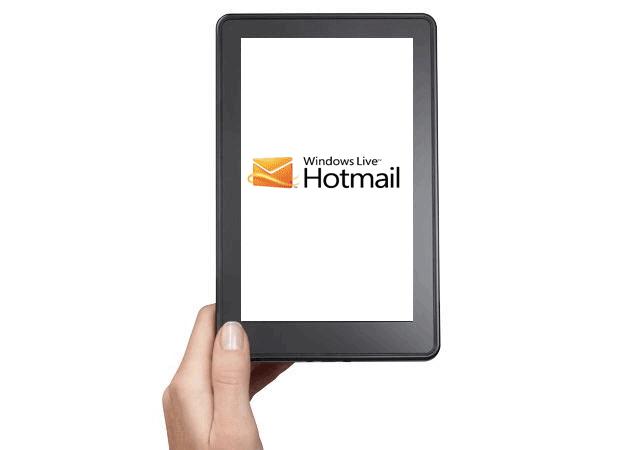 Microsoft lanza su cliente Hotmail para el Kindle Fire