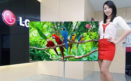 LG ofrece más datos de su TV OLED de 55″ que presentará en CES 2012