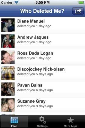 Descubre quién te ha borrado en Facebook con esta App