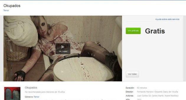 La primera película española estrenada en una red social: Okupados