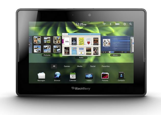 RIM prepara dos nuevos Blackberry Playbooks en 2012