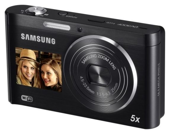 Samsung DV300F DualView, compacta con Wi-Fi