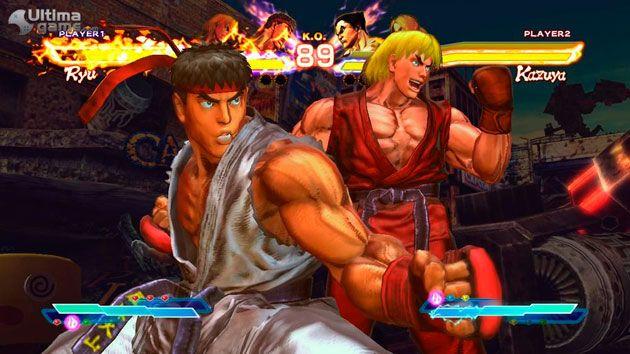 PS Vita podría tener su Tekken x Street Fighter