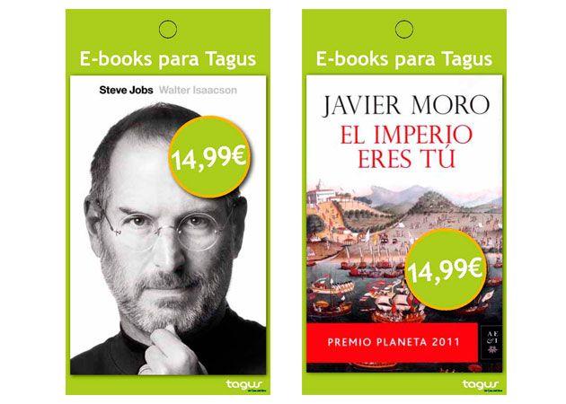 Casa del Libro venderá tarjetas con ebooks precargados